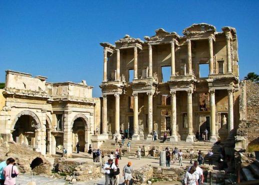 Экскурсия в древний город Эфес в Турции