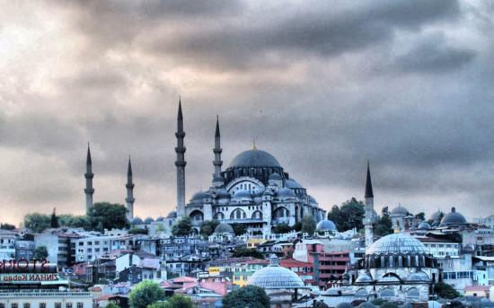 Голубая мечеть - самая необычная мечеть в Турции