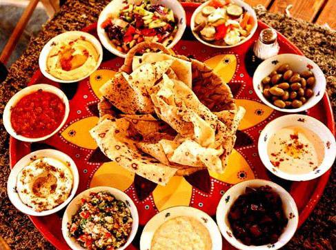 Специфическая кухня Израиля