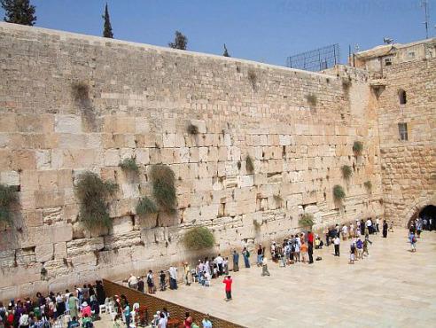 Знаменитые и загадочные места Израиля - Котель Маарави или Стена плача