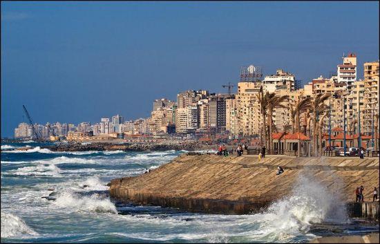 Александрия — средиземноморский вход в Египет
