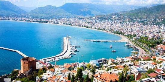 Популярные курорты Турции